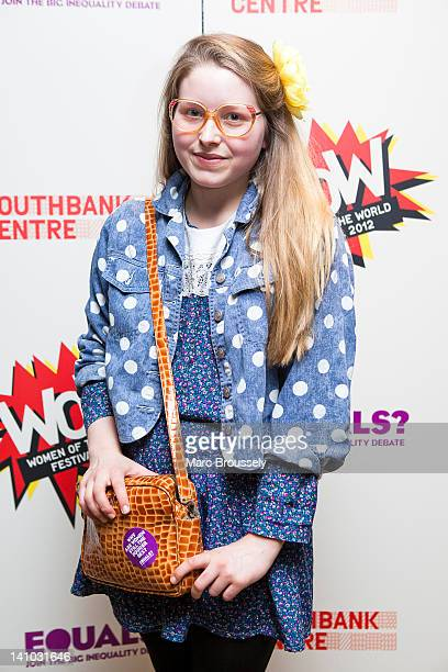 Jessie Cave attends Equals Live 2012 at Southbank Centre WoW Women of the World Festival on March 9 2012 in London United Kingdom