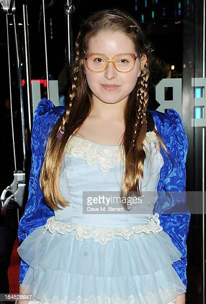 Jessie Cave attends the Gala Premiere of 'Great Expectations' which closes the 56th BFI London Film Festival at Odeon Leicester Square on October 21...