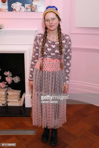 Jessie Cave attends the Glossier UK launch party on November 14 2017 in London England
