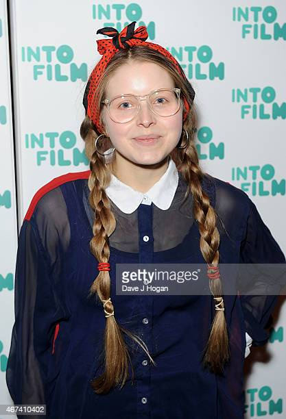 Jessie Cave attends the 'Into Film Awards' at The Empire Cinema on March 24 2015 in London England