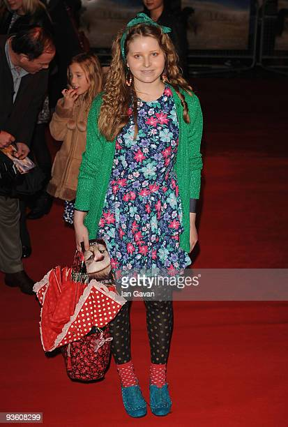 Jessie Cave attends the Premiere for 'Where The Wild Things Are' at Vue West End on December 2 2009 in London England