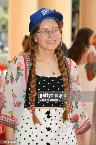 Jessie Cave attends the press day performance of Where Is Peter Rabbit at the Theatre Royal Haymarket on July 23 2019 in London England