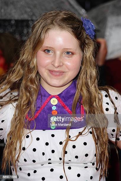 Jessie Cave attends the UK Premiere of Harry Potter and the HalfBlood Prince at Odeon Leicester Square on July 7 2009 in London England