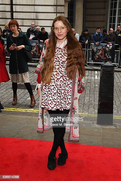 Jessie Cave attends the UK Premiere of Tale Of Tales at The Curzon Mayfair on June 1 2016 in London England