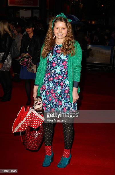 Jessie Cave attends the UK Premiere of 'Where The Wild Things Are' at Vue West End on December 2 2009 in London England