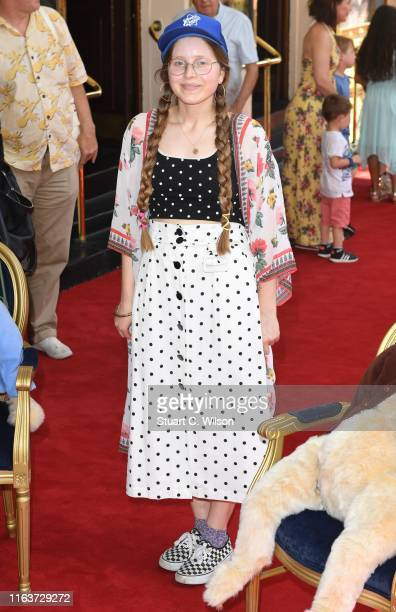 Jessie Cave attends the Where is Peter Rabbit press day at Theatre Royal Haymarket on July 23 2019 in London England