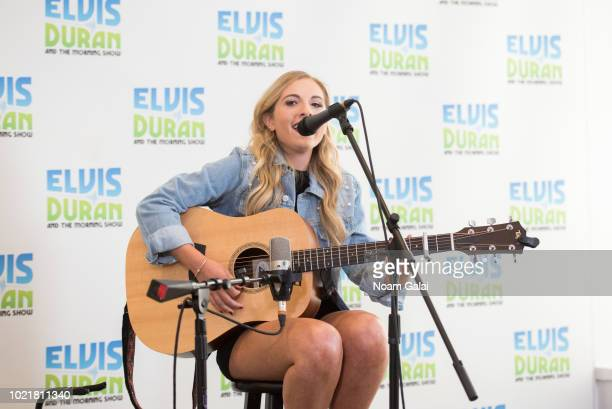 Jessie Chris performs at The Elvis Duran Z100 Morning Show at Z100 Studio on August 23 2018 in New York City
