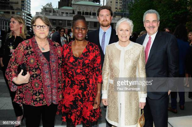 Jessie Close First Lady of New York City Chirlane McCray Calen Pick Honoree and Cofounder of Bring Change 2 Mind Glenn Close and President of The...