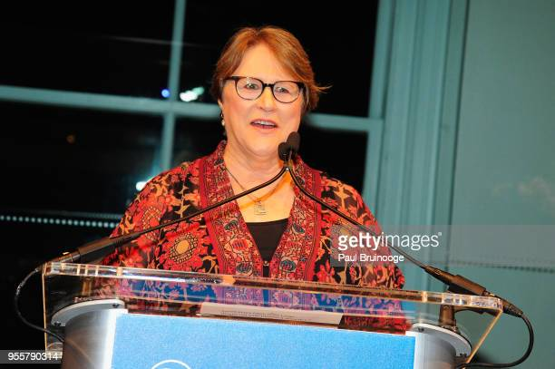 Jessie Close presents the Activist Award during the 2018 Change Maker Awards at Carnegie Hall on May 7 2018 in New York City