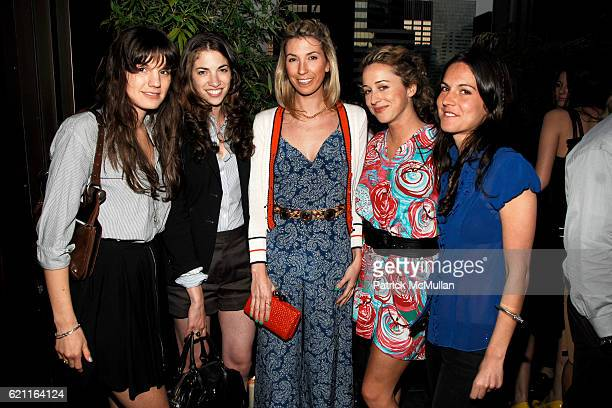 "Jessie Cohan, Susan Cernek, Anastasia Rogers, Serena Merriman and Cosi Theodoli-Braschi attend MEN.STYLE.COM ""The Women of Fashion 2008"" Party at..."