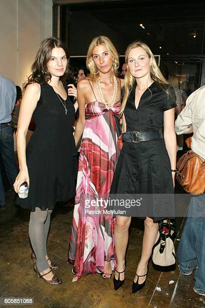 Jessie Cohen Anastasia Rogers and Nina Freudenberger attend Petra Project Presents Adaptation Survival in the City at Petra Project on October 4 2006...