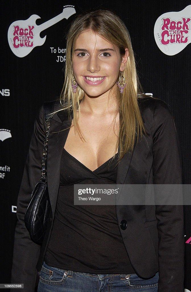 Jessie Della Femina, fashion designer and daughter of Jerry Della Femina and Judy Licht