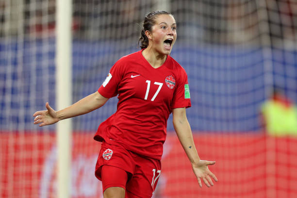 FRA: Canada v New Zealand: Group E - 2019 FIFA Women's World Cup France