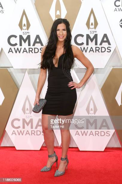 Jessie G attends the 53nd annual CMA Awards at Bridgestone Arena on November 13 2019 in Nashville Tennessee