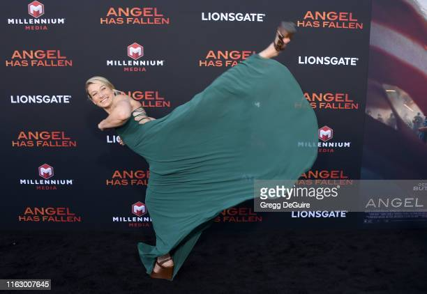 Jessie Graff arrives at the LA Premiere Of Lionsgate's Angel Has Fallen at Regency Village Theatre on August 20 2019 in Westwood California