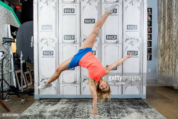 Jessie Graff discusses 'American Ninja Warrior' with the Build Series at Build Studio on June 13 2018 in New York City