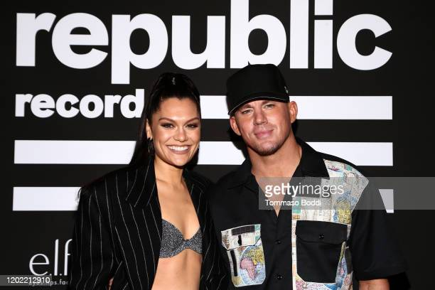 Jessie J and Channing Tatum attend Republic Records Grammy After Party at 1 Hotel West Hollywood on January 26 2020 in West Hollywood California