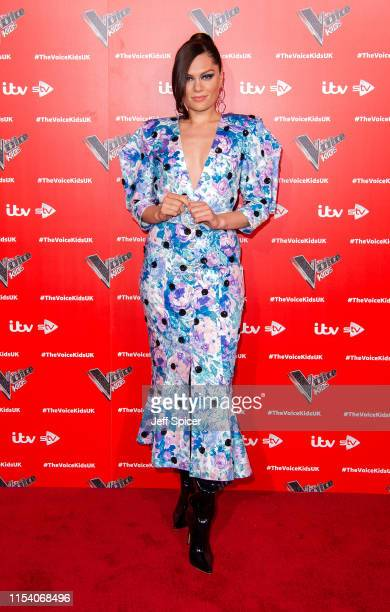 Jessie J attends a photocall to launch the new series of The Voice Kids at The RSA on June 06 2019 in London England