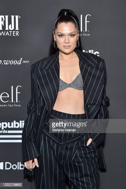 Jessie J attends FIJI Water At Republic Records 2020 Grammy After Party on January 26 2020 in West Hollywood California