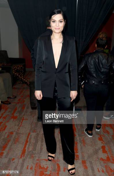 Jessie J attends the 2017 Soul Train Awards presented by BET at the Orleans Arena on November 5 2017 in Las Vegas Nevada