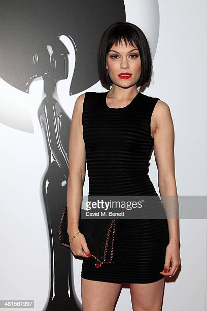 Jessie J attends the BRIT Awards nominations on January 9 2014 in London England