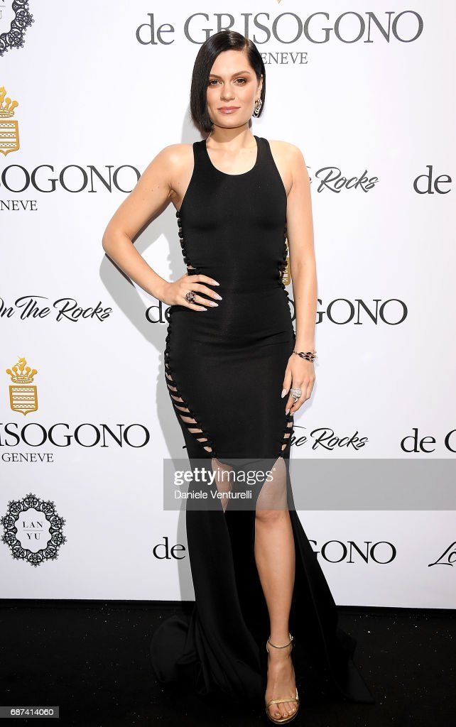 Jessie J attends the De Grisogono 'Love On The Rocks' party during the 70th annual Cannes Film Festival at Hotel du Cap-Eden-Roc on May 23, 2017 in Cap d'Antibes, France.