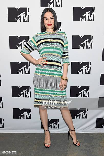 Jessie J attends the MTV 2015 Upfront presentation on April 21 2015 in New York City