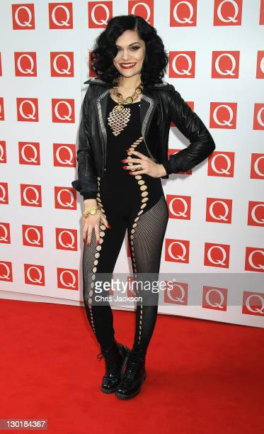 Jessie J attends the Q awards at The Grosvenor House Hotel on October 24, 2011 in London, England.
