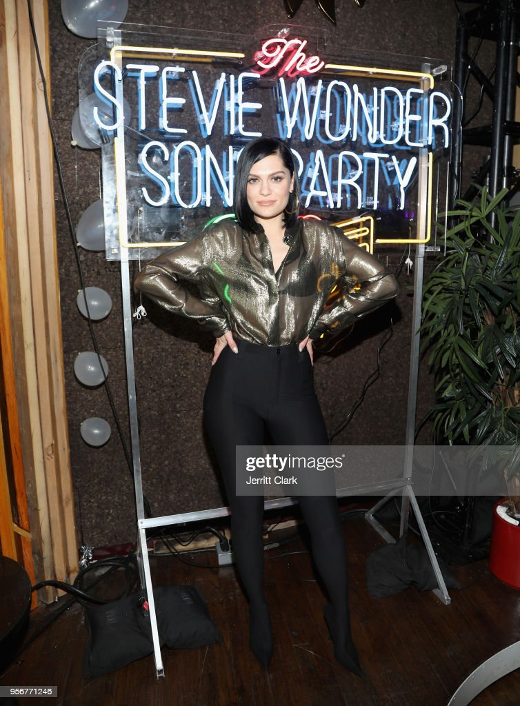 Jessie J attends The Stevie Wonder Song Party at The Peppermint Club on May 9, 2018 in Los Angeles, California.