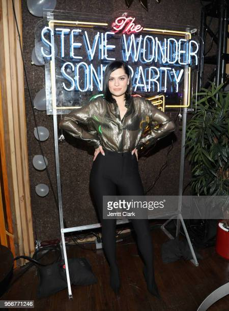 Jessie J attends The Stevie Wonder Song Party at The Peppermint Club on May 9 2018 in Los Angeles California