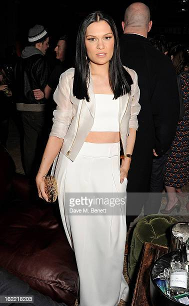 Jessie J attends the Universal Music Brits Party hosted by Bacardi at the Soho House popup on February 20 2013 in London England