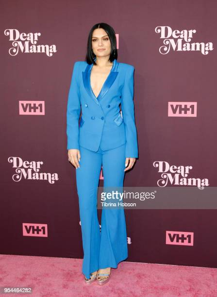 Jessie J attends VH1's 3rd annual 'Dear Mama A Love Letter To Moms' screening at The Theatre at Ace Hotel on May 3 2018 in Los Angeles California