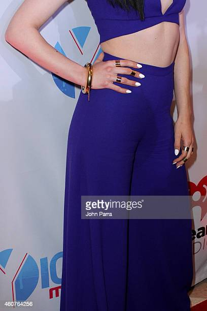 Jessie J attends Y100's Jingle Ball 2014 at BBT Center on December 21 2014 in Miami FL