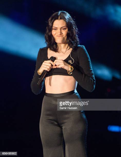 Jessie J performs at WE Day UK on March 22 2017 in London United Kingdom