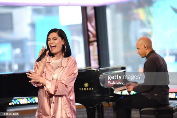 AMERICA Jessie J performs live on 'Good Morning America' on Tuesday April 29 2018 airing on the ABC Television Network JESSIE J