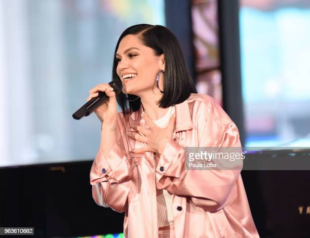 AMERICA Jessie J performs live on Good Morning America on Tuesday April 29 2018 airing on the Walt Disney Television via Getty Images Television...