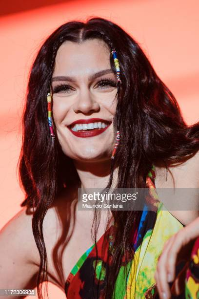 Jessie J performs live on stage during third day of Rock In Rio Music Festival at Cidade do Rock on September 29 2019 in Rio de Janeiro Brazil