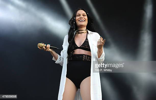 Jessie J performs on day 3 of the New Look Wireless Festival at Finsbury Park on July 5 2015 in London England