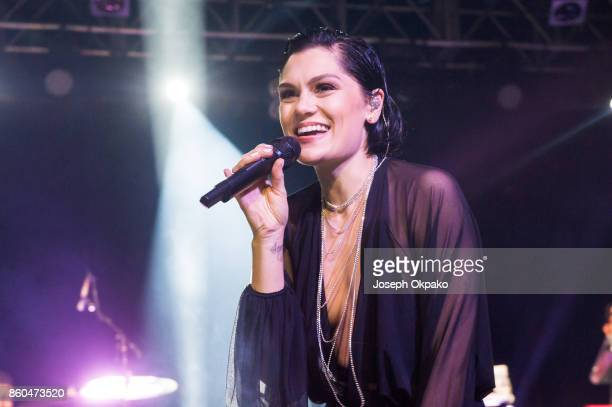 Jessie J performs on stage at KOKO on October 11 2017 in London England