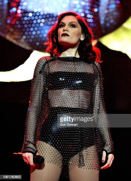 Jessie J performs on stage at The Royal Albert Hall on November 13 2018 in London England