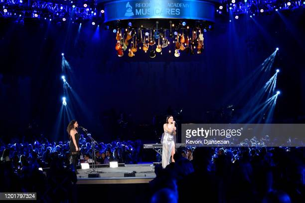 Jessie J performs onstage during MusiCares Person of the Year honoring Aerosmith at West Hall at Los Angeles Convention Center on January 24, 2020 in...