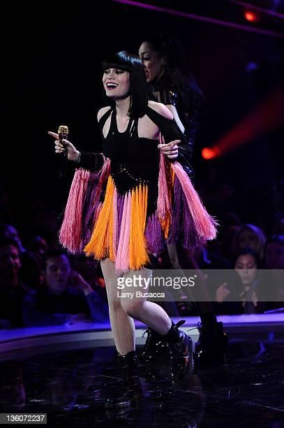 Jessie J performs onstage during VH1 Divas Celebrates Soul at Hammerstein Ballroom on December 18 2011 in New York City