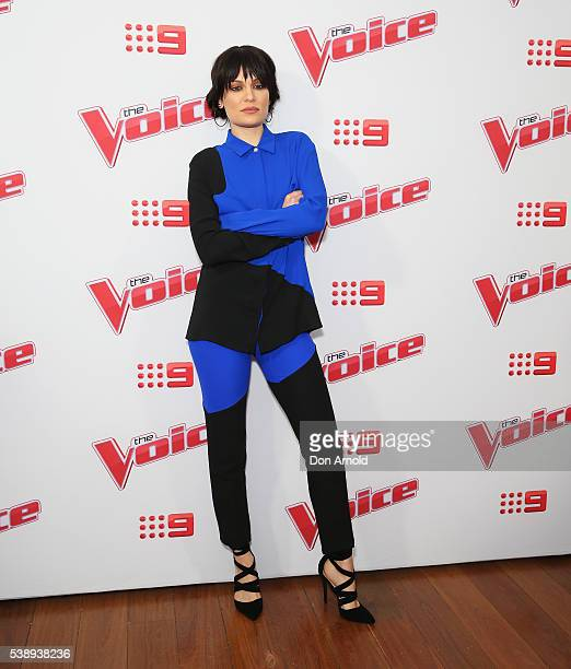 Jessie J poses at the Voice 2016 Live Show Launch on June 9 2016 in Sydney Australia