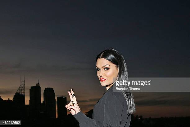 Jessie J poses during the Voice Live Finals Show Launch on July 29 2015 in Sydney Australia