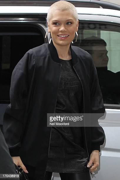 Jessie J seen at BBC Radio 2 on June 13 2013 in London England