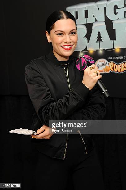 Jessie J speaks at Z100's Jingle Ball 2014 Official Kick Off Event presented by Goldfish Puffs on October 9 2014 in New York City at Macy's Herald...