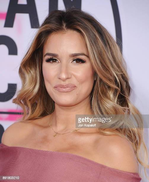 Jessie James attends the 2017 American Music Awards at Microsoft Theater on November 19 2017 in Los Angeles California