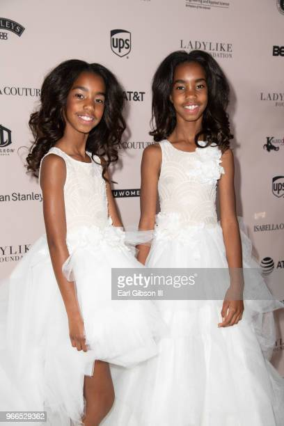 Jessie James Combs and D'Lila Star Combs attend the Ladylike Foundation's 2018 Annual Women Of Excellence Scholarship Luncheon at The Beverly Hilton...