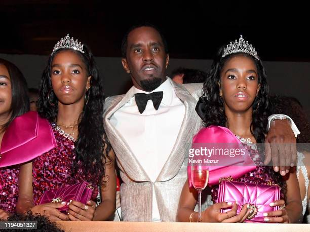 Jessie James Combs Sean Combs and D'Lila Star Combs attend Sean Combs 50th Birthday Bash presented by Ciroc Vodka on December 14 2019 in Los Angeles...