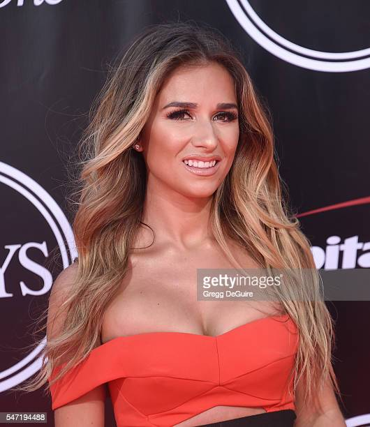 Jessie James Decker arrives at The 2016 ESPYS at Microsoft Theater on July 13 2016 in Los Angeles California